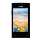 Telefon Mobil Philips S309, Single SIM, 4 inch, Android v4.4, Dual-Core 1 GHz , 4 GB, 1 GB RAM, 5 MP, 1600 mAh - Black