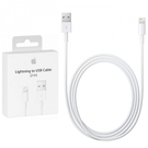 Cablu de date original Apple MD819ZM/A 2m Charge & Sync Cable pentru Apple iPhone 5 / 5S / 5C / 6 / 6 Plus / 6S / 6S Plus, iPad 4th generation / Mini, iPod Touch 5th / Nano 7th, blister