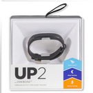 Bratara Fitness Jawbone Wristband UP 2 Fitness Health Monitor (iOS, Android, Windows Mobile) - Black
