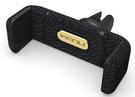 Suport auto Universal KENU Airframe+ Leather Car Holder pentru Smartphone (max. 6 inch) - Black
