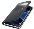 Husa Samsung tip Book Cover S-View, EF-CG935PBEGWW pentru Samsung Galaxy S7 Edge, G935F - Black