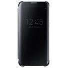 Husa Samsung tip Book Flip-Case Clear View, EF-ZG935CBEGWW pentru Samsung Galaxy S7 Edge, SM-G935 - Black