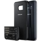 Husa protectie spate + tastatura Samsung Keyboard Cover QWERTY, EJ-CG930UBEGGB pentru Samsung Galaxy S7, G930F - Black