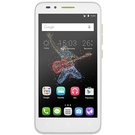Telefon Mobil Alcatel Go Play, 7048X, 5 inch, 4G / LTE, Quad-Core, 1GB RAM, 8GB, 8MP, 2500mAh - White & Lime Green