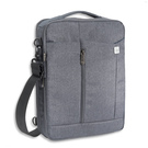 Geanta 4smarts CAMBRIDGE Multimedia Bag 3 in 1 (tableta, smartphone, laptop - max 13.3 inch) - Blue-Grey