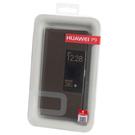 Husa tip Book Huawei Smart Cover Window pentru Huawei P9 - Dark Grey