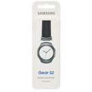 Samsung Gear S2 Stainless Steel Adapter for Standard Bracelets, ET-GR720BBEGWW - Dark Grey