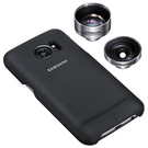 Set Foto Samsung (Obiectiv + Husa protectie spate) ET-CG930DBEGWW pentru Samsung Galaxy S7, G930 - Black