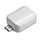 Adaptor Samsung GH96-09728A OTG Micro-USB la USB + Cablu ECB-DU4AWE, Bulk - White