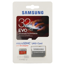 Card de memorie Samsung microSD 32GB EVO Clasa 10 (SD Adapter), MB-MP32DA/EU