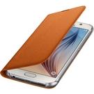Husa tip Book Samsung Flip Case Wallet Fabric EF-WG920BOEGWW pentru Samsung Galaxy S6 SM-G920F - Orange