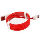 Cablu de date OnePlus USB Type-A ~ Type-C, 100 cm, Bulk - Red