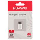Adaptor Huawei Micro-USB ~ USB Type-C AP52 - White