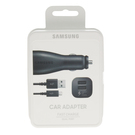Incarcator Auto Dual Port USB Samsung Fast Car Charger MicroUSB, EP-LN920BBEGWW, 5 V / 2 A - Black