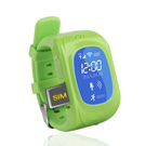 Ceas Inteligent cu functie monitorizare copii All Together Now : GPS Smartwatch (compatibil Android, iOS) - Green