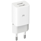 Incarcator Retea Rapid Motorola Duo Charger ASM6WCHGR (2x USB type A, 1.2A) - White