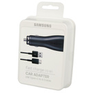 Incarcator Auto Samsung Fast Car Charger 2A, EP-LN915CBEGWW, contine cablu Type-C - Black