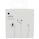 Casti Stereo Apple Headset MMTN2ZM/A / Model A1748 EarPods (Lightning connector, Remote / Mic) pentru Apple iPhone 7 / 7 Plus / 8 / 8 Plus / X, Blister - White