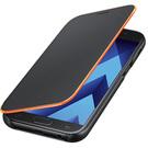 Husa tip Book Samsung Neon Flip Cover EF-FA320PBEGWW pentru Samsung Galaxy A3 (2017) A320F - Black
