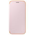 Husa tip Book Samsung Neon Flip Cover EF-FA320PPEGWW pentru Samsung Galaxy A3 (2017) A320F - Pink