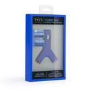 Incarcator Auto Rapid TYLT Y-CHARGE Quick Charger 2x USB, 4800 mAh - Blue