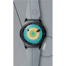 Curea Silicon Smartwatch Samsung, ET-YSI76MSEGWW - Arik Levy Eclipse - pentru Samsung Gear S3 - Silver