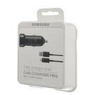 Incarcator Auto Samsung Fast Car Charger Mini EP-LN930BBEGWW Micro-USB, 9 V - 5 V / 2 A - Black