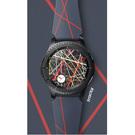 Curea Silicon Smartwatch Samsung, ET-YSI76MNEGWW - Arik Levy Fractal - pentru Samsung Gear S3 - Navy Blue