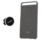 Set Huawei Gift Box (Husa Protectie Spate + Magnetic Car Holder) pentru Huawei P10 Plus - Grey