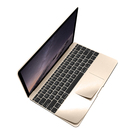 Folie Protectie Protective Skin (premium polycarbonate) pentru Apple MacBook 12 inch - Gold