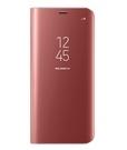 Husa tip Book Samsung Flip-Case Clear View EF-ZG950CPEGWW pentru Samsung Galaxy S8, G950F - Pink