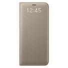 Husa tip Book Samsung LED View Cover EF-NG950PFEGWW pentru Samsung Galaxy S8 G950F - Gold