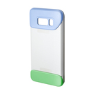 Husa tip Bumper Samsung Protective (2 Piece) Cover EF-MG950CVEGWW pentru Samsung Galaxy S8 G950F - Violet & Green