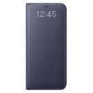 Husa tip Book Samsung LED View Cover EF-NG955PVEGWW pentru Samsung Galaxy S8 Plus G955F - Violet