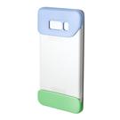 Husa tip Bumper Samsung Protective (2 Piece) Cover EF-MG955CVEGWW pentru Samsung Galaxy S8 Plus G955F - Violet & Green