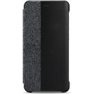 Husa tip Book Huawei Smart Cover Window pentru Huawei P10 lite - Light Grey