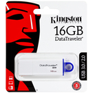 Memory Stick USB 3.0 Kingston G4 DataTraveler 16GB - White