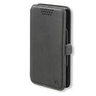 Husa tip Book 4smarts Universal Flip Case FITZROY Stand pentru Smartphone max. 5.7 inch - Black