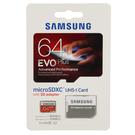Card de memorie Samsung microSD 64GB EVO Plus UHS-1 (SD Adapter), MB-MP64DA/EU