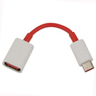 Adaptor OTG OnePlus USB Type-A - USB Type-C - Red