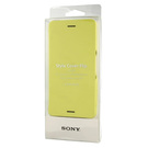 Husa tip Book Sony Style Cover Flip SCR58 pentru Sony Xperia X Performance - Yellow