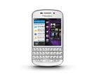 Telefon mobil BlackBerry Q10, 4G LTE, SQN100-3 (eu spec) Resigilat - White