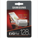 Card de memorie Samsung microSD 128GB EVO Plus UHS-1 2017 (SD Adapter), MB-MC128GA/EU