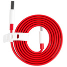 Cablu de date OnePlus USB Type-A la Type-C Fast Charge Data Cable, 100 cm, Bulk - Red