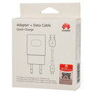 Incarcator Retea Huawei Super Charger / Fast Charger AP32 + cablu MicroUSB 100 cm, HW-059200EHQ  - White