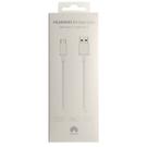 Cablu de date incarcare rapida Huawei AP71 Super Charger 5A USB Type-A la USB Type-C 100 cm, 04071497 - White