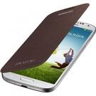 Husa Samsung Flip Cover pentru Samsung Galaxy S4 i9500 / i9505 / i9506 / i9515, EF-FI950BAEGWW - Brown