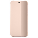 Husa de protectie Huawei Smart View Flip Cover pentru Huawei P20 Lite, 51992315 - Pink