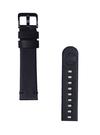 Curea StrapStudio Leather Smartwatch Essex pentru Samsung Galaxy Watch R810 / R805, Gear S3 R760 / R770 / R775, 22mm, GP-R805BREECAC SS-831-01 - Black