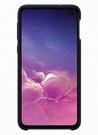 Husa Protectie Spate Samsung Silicone Cover pentru Samsung Galaxy S10e, EF-PG970TBEGWW - Black